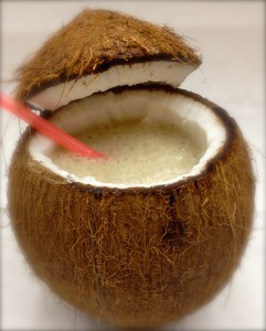 Coconut Banana Smoothie by Tastefulventure.com