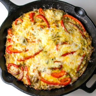 Sausage and Red Pepper Frittata