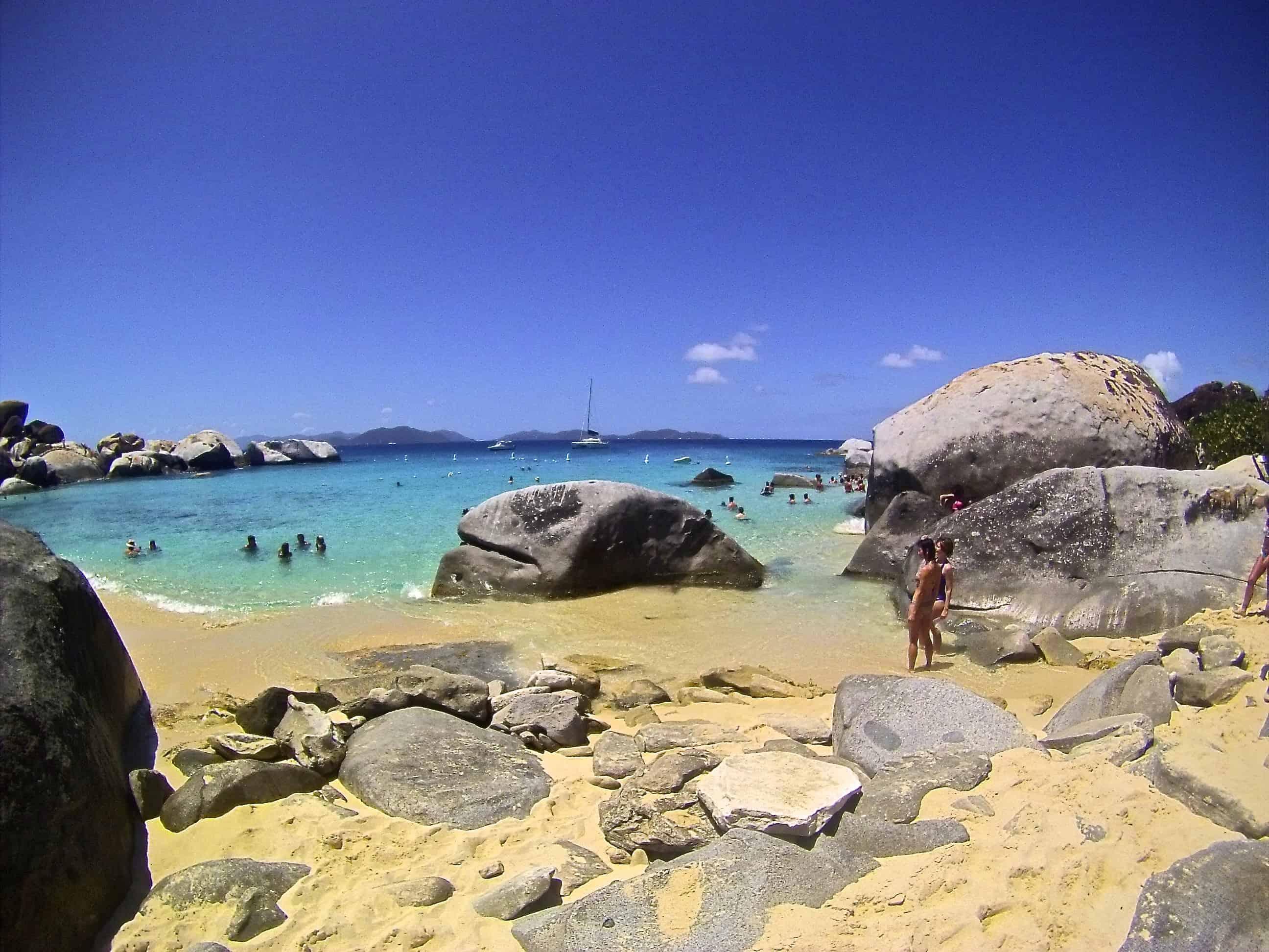 Tortola and Virgin Gorda The Baths (BVI)