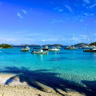 Chill Vibes in Cruz Bay, St Johns USVI