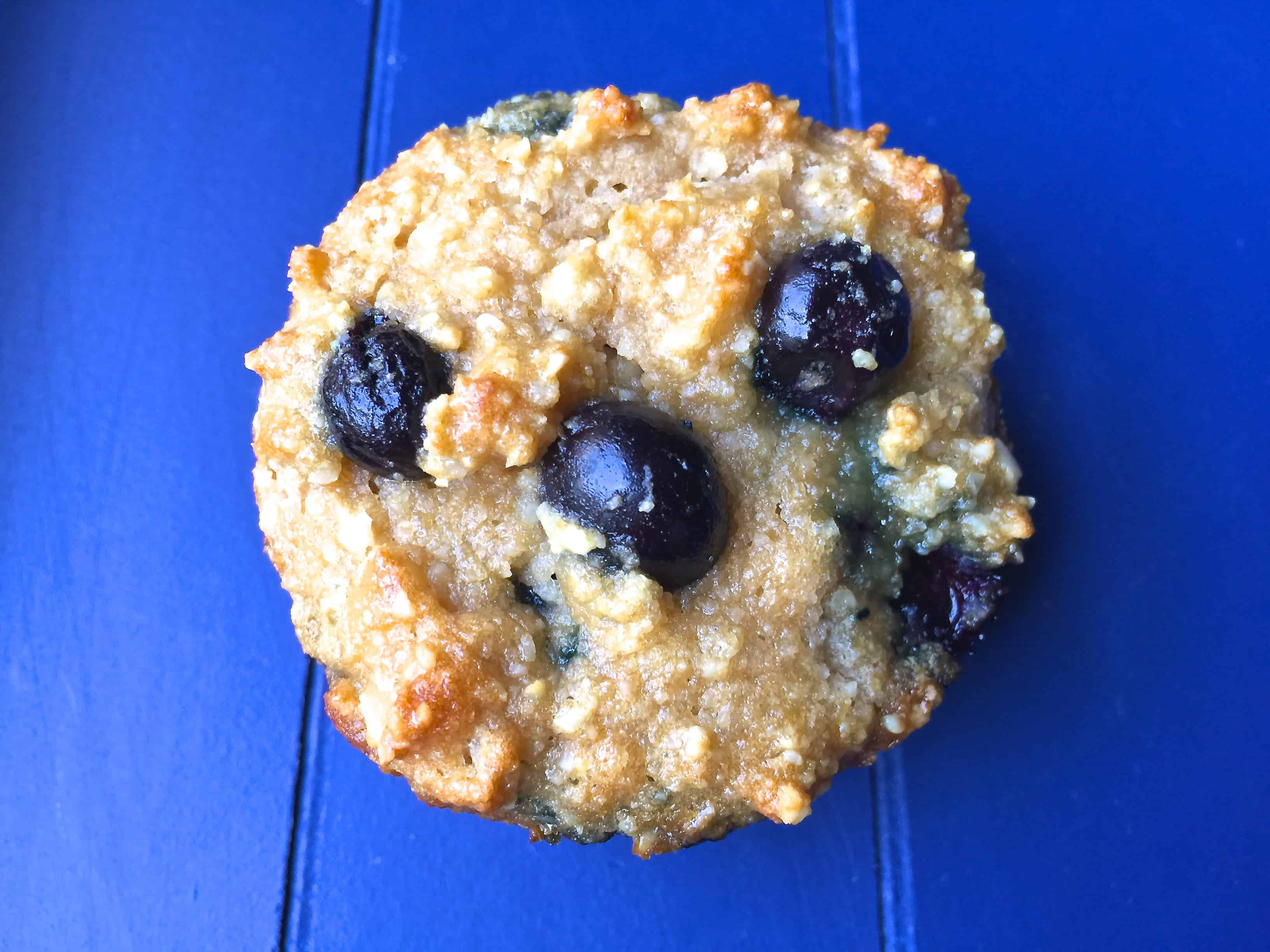 Paleo Blueberry Muffins (Sugar Free)
