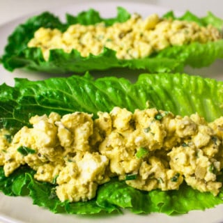 Low Carb Egg Salad Lettuce Wraps