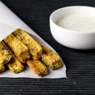 Zesty Zucchini Fries