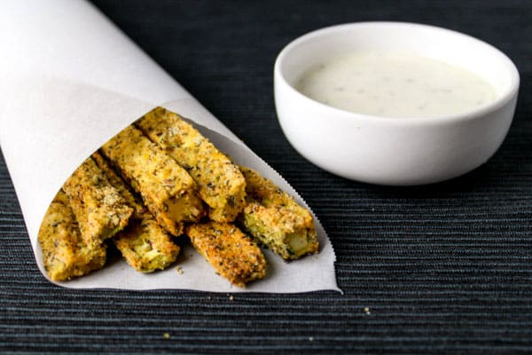 Zesty Zucchini Fries that are Low Carb, Gluten Free, and oh so Yummy! by Tastefulventure.com