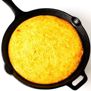 20 Minute Skillet Cornbread (Gluten Free)