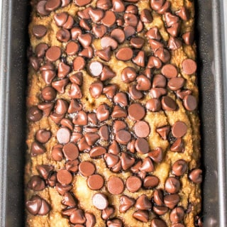 Chocolate Chip Banana Bread (Gluten Free)