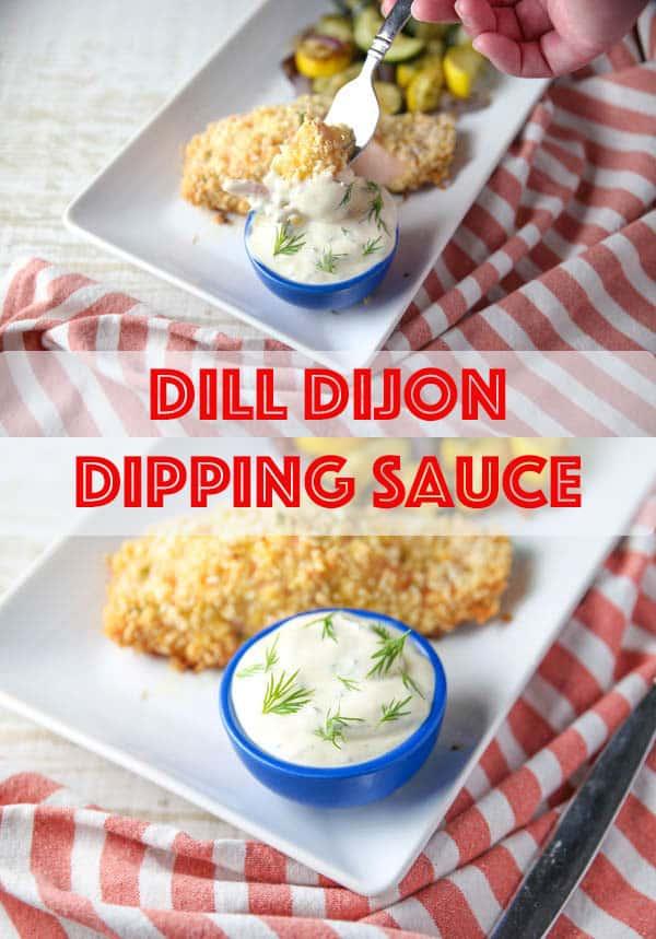 5 Minute Dill Dijon Dipping Sauce