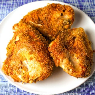 Gluten Free Oven Fried Jerk Chicken