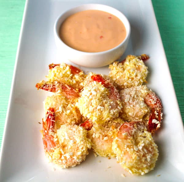 Baked Coconut Shrimp with Spicy Mayo Dipping Sauce ...