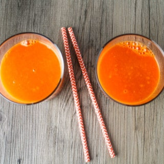 Orange Turmeric Immunity Boosting Juice