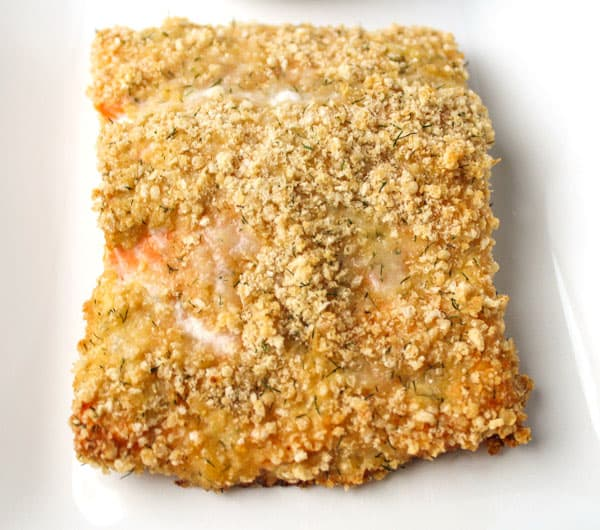 Baked Parmesan Crusted Salmon that can be cooked in 30 Minutes, it's also Gluten Free, and oh so delicious! | Tastefulventure.com