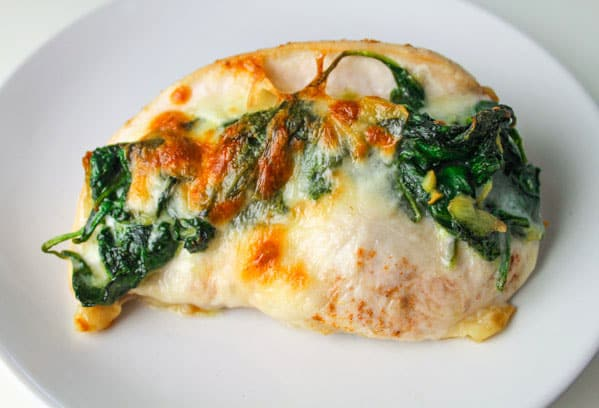 Chicken breast spinach recipes easy