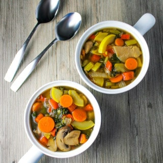 Skinny Kale Vegetable Soup