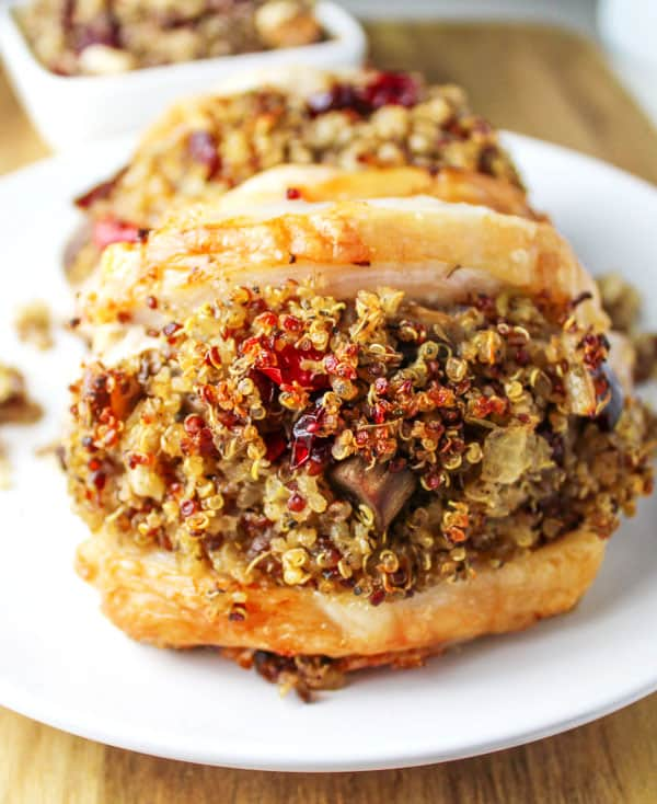 Stuffed Pork Chops are a great way to use up that left over stuffing ...