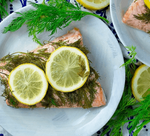 Baked Lemon Dill Salmon | 15 Easy Foil Packet Recipes