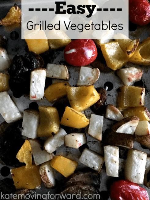 Easy Grilled Vegetables | 15 Easy Foil Packet Recipes