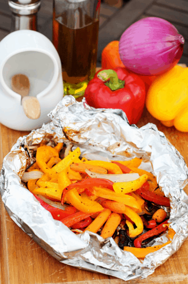 Grilled Vegetables in Foil | 15 Easy Foil Packet Recipes