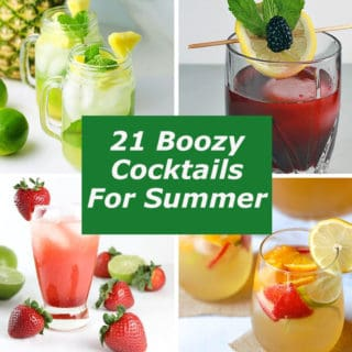 21 Boozy Cocktails For Summer