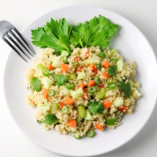 20 Minute Quinoa Summer Salad