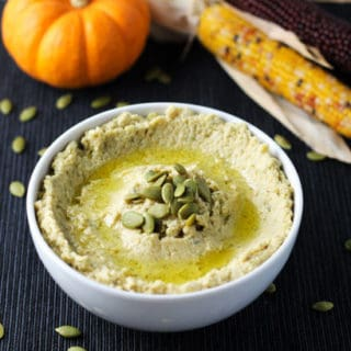 5 Minute Pumpkin Seed Hummus