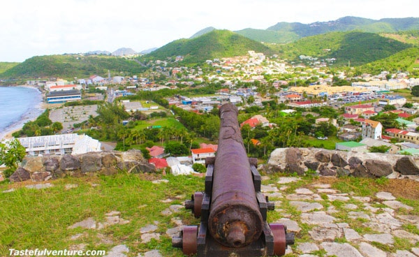 St Martin Fort Louis Adventures, this is a great free tourist attraction on the French side of the island! | Tastefulventure.com