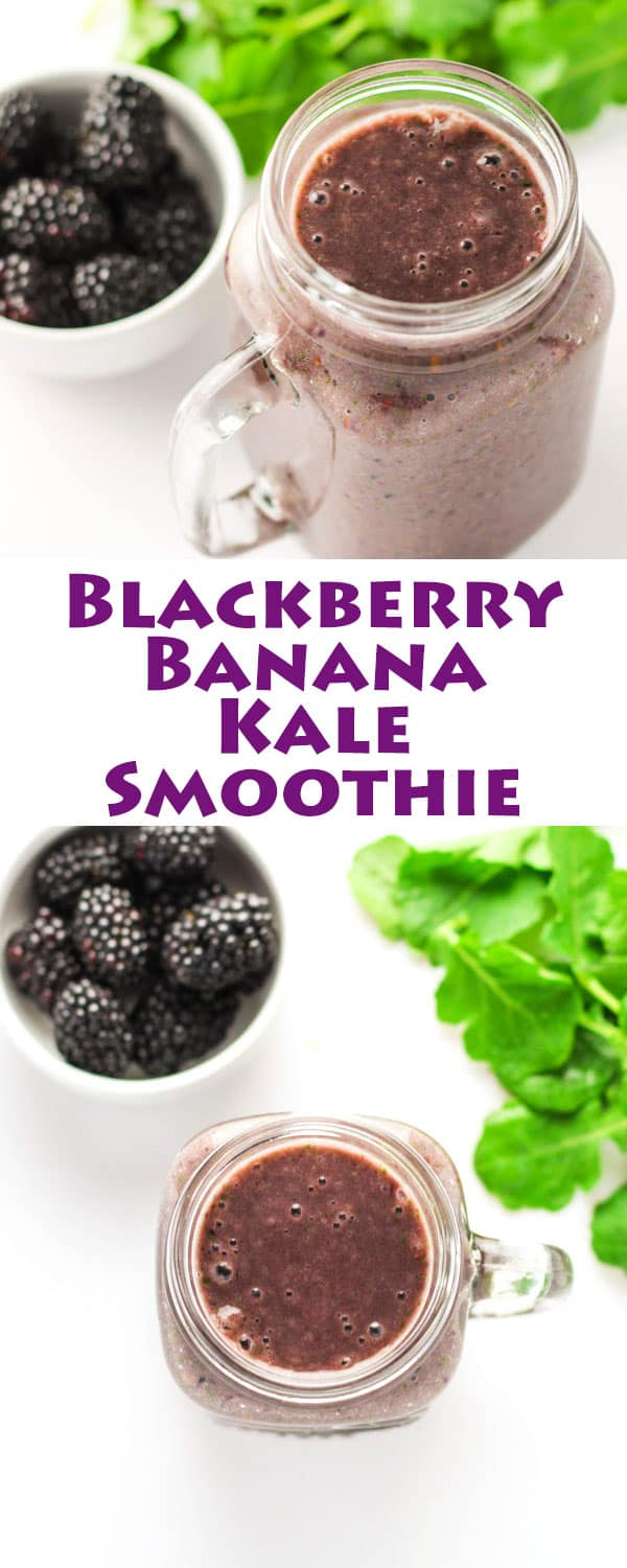 Blackberry-Banana-Kale-Smoothie