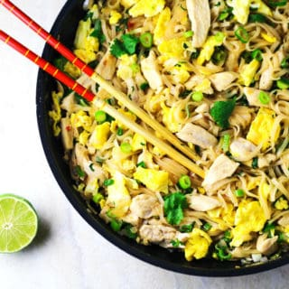 Better Than Take-Out Chicken Pad Thai