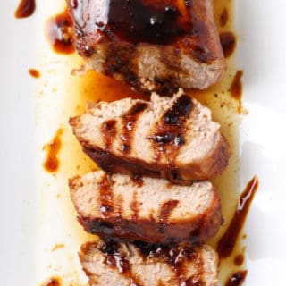 Chipotle and Maple Glazed Pork Tenderloin