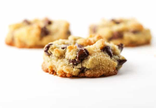 These Coconut Chocolate Chip Cookies are so soft and chewy, you'll never know they're Gluten Free! | Tastefulventure.com