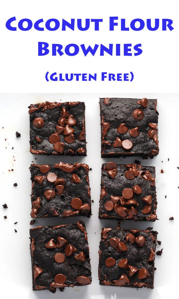 These Coconut Flour Brownies are so moist and delicious! (Gluten Free) | Tastefulventure.com