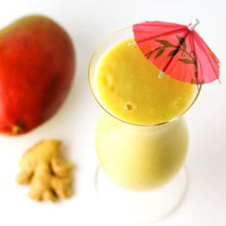 Coconut Mango Ginger Smoothie