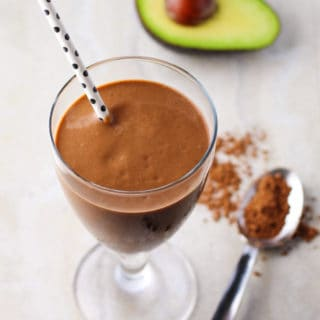 Healthy Chocolate Avocado Smoothie