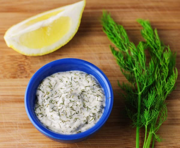This Lemon Dill Tartar Sauce can be made in under 5 minutes with 4 ...