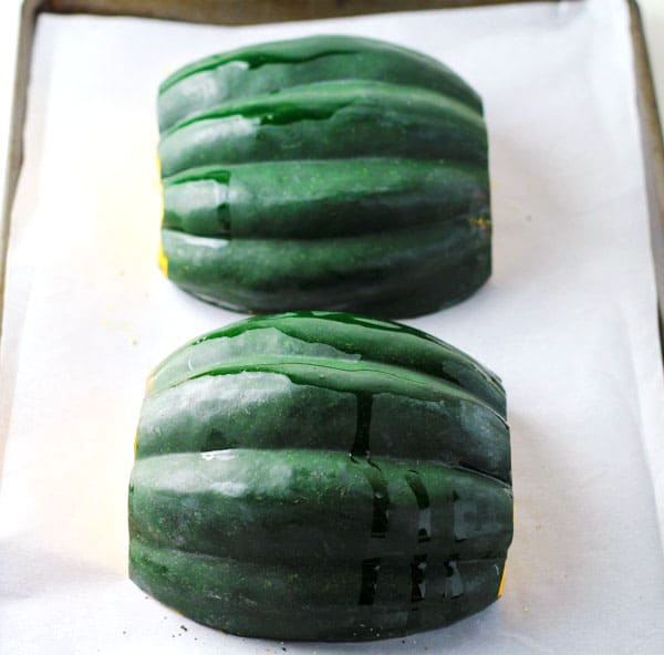 How To Roast Acorn Squash, so easy! Gluten Free, Vegan, and Paleo. | Tastefulventure.com