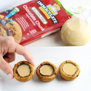 Irish Cream Cookie Cups