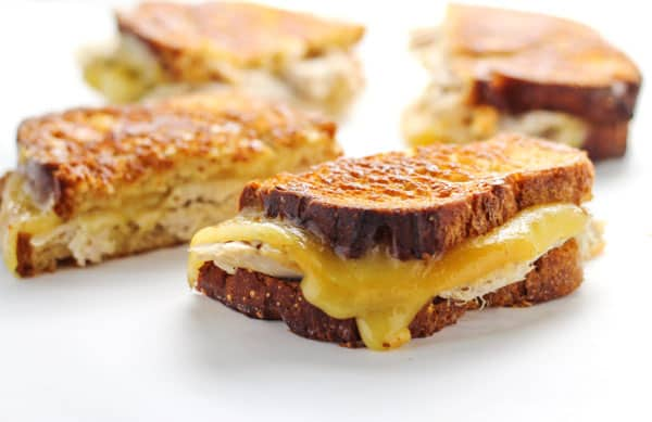 Thanksgiving Leftover Grilled Cheese Recipe — Dishmaps