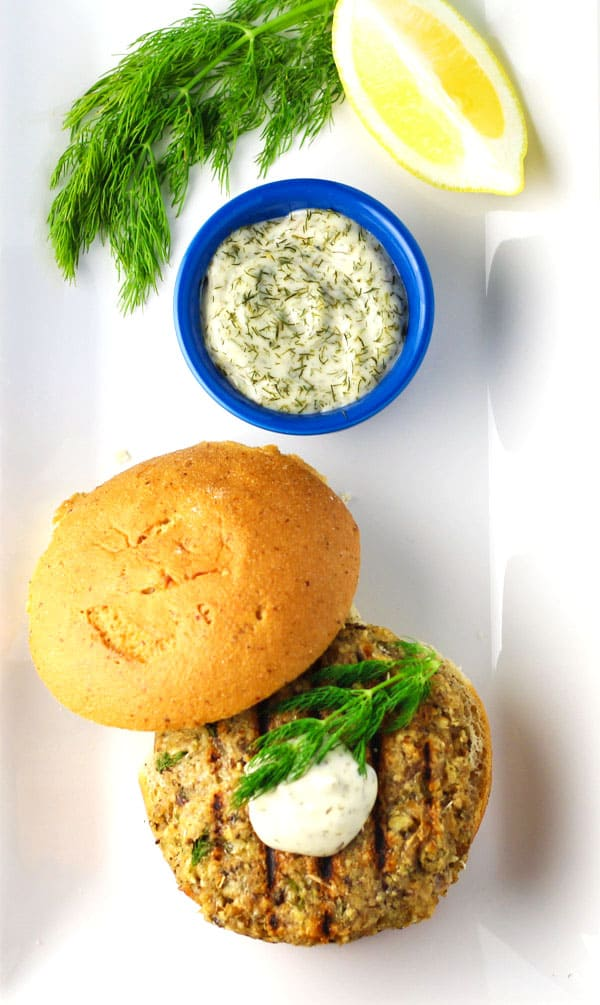 Salmon Burgers are so simple to make. They always end up being my go ...