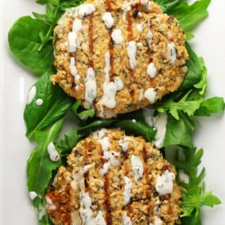 Lemon Tarragon Salmon Cakes