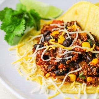 Quinoa and Black Bean Tacos
