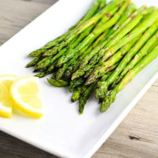 Roasted Asparagus with Lemon