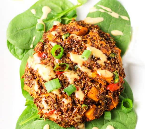 quinoa sweet potato patties