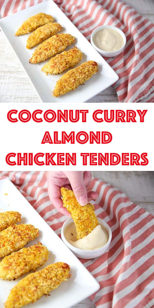 Coconut Curry Almond Chicken Tenders