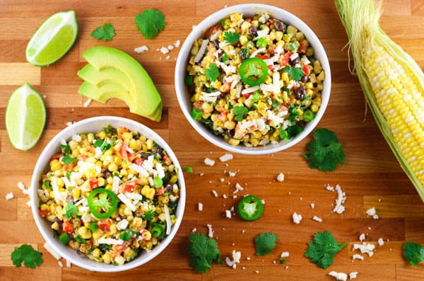Top 10 Recipes To Make For Memorial Day - Mexican Street Corn Salad, this is the perfect addition to any BBQ!