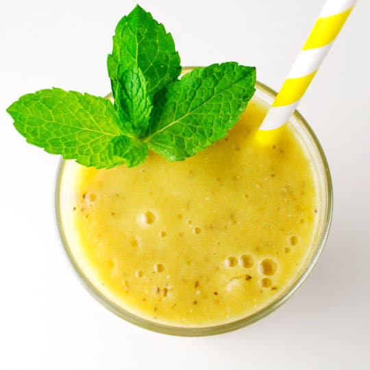 7 Staple Smoothies For Summer - These 7 simple, healthy, delicious smoothies are perfect for summer!
