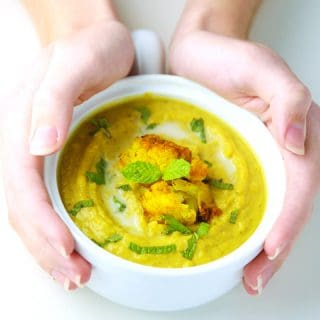 Turmeric Cauliflower Soup
