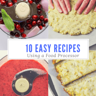 10 Easy Recipes To Make Using A Food Processor