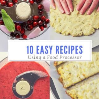 10 Easy Recipes To Make Using A Food Processor