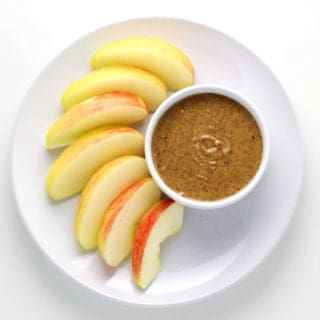 Almond Butter and Tahini Snack Dip