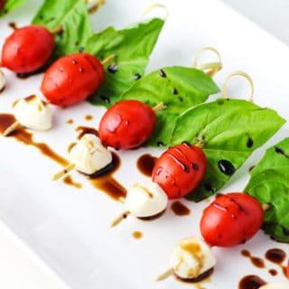 Easy Caprese Salad Bites