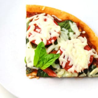 Easy Margherita Pizza (Gluten Free)